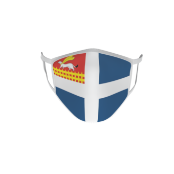 Gesichtsmaske Behelfsmaske Mundschutz  Saint Malo