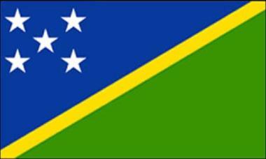 Flagge Salomonen