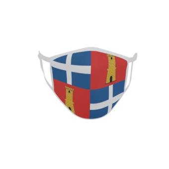 Gesichtsmaske Behelfsmaske Mundschutz Sassari Provinz