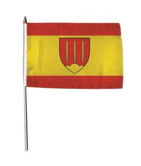 Stockflagge Sassenberg 30 x 45 cm
