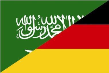 Flagge Saudi Arabien - Deutschland