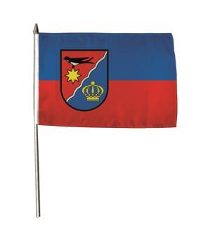 Stockflagge Schieder - Schwalenberg 30 x 45 cm