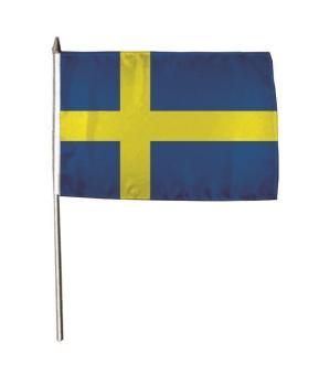 Stockflagge Schweden 30 x 45 cm