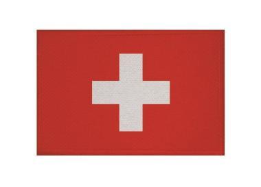 Aufnäher Patch Schweiz 9 x 6 cm