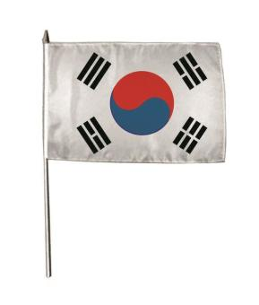 Stockflagge Süd Korea 30 x 45 cm
