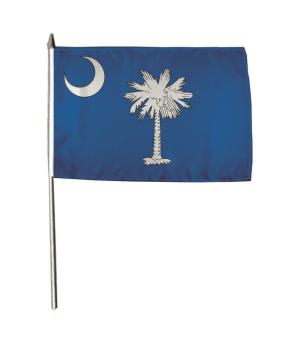 Stockflagge South Carolina 30 x 45 cm
