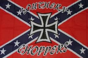 Fahne Southern Choppers 90 x 150 cm