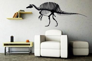 Wandtattoo Spinosaurus Skelett