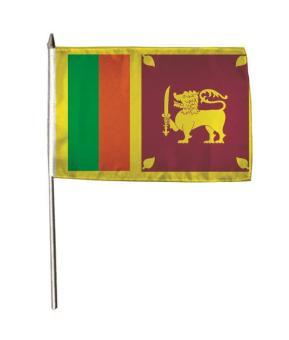 Stockflagge Sri Lanka 30 x 45 cm