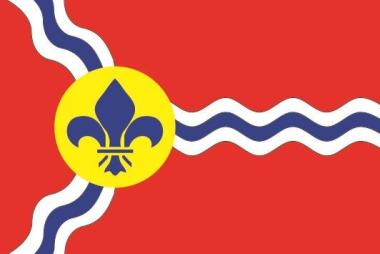 Flagge St. Louis