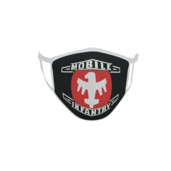 Gesichtsmaske Behelfsmaske Mundschutz Starship Troopers Mobile Infantry