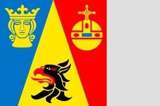 Flagge Stockholm 120 x 120 cm