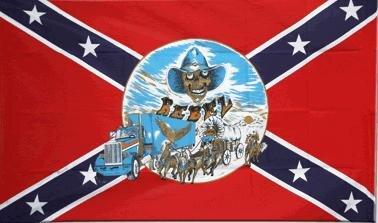 Fahne Südstaaten Buggy 90 x 150 cm