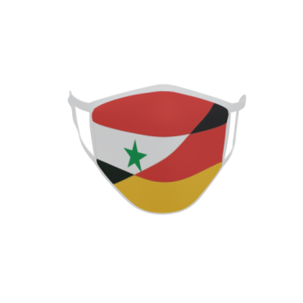 Gesichtsmaske Behelfsmaske Mundschutz Syrien-Deutschland