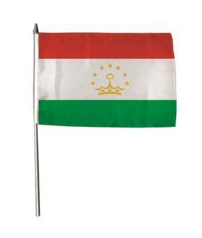 Stockflagge Tadschikistan 30 x 45 cm