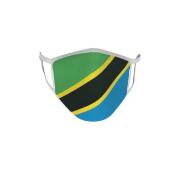 Gesichtsmaske Behelfsmaske Mundschutz Tansania