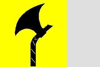Flagge Telemark 120 x 120 cm