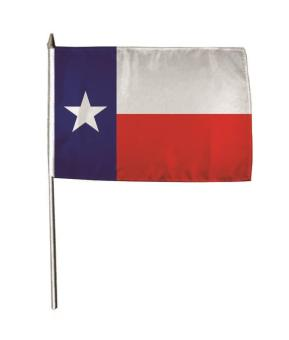 Stockflagge Texas 30 x 45 cm