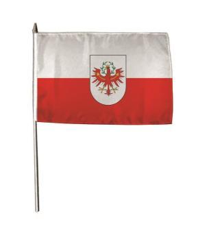 Stockflagge Tirol 30 x 45 cm