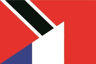 Flagge Trinidad & Tobago - Frankreich