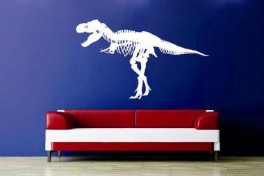 Wandtattoo Tyrannosaurus Skelett Motiv Nr. 1