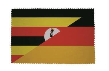 Glasreinigungstuch Uganda-Deutschland