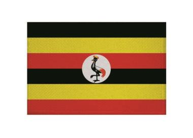 Aufnäher Patch Uganda 9 x 6 cm