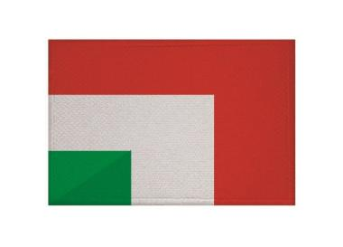 Aufnäher Ungarn-Italien Patch 9 x 6 cm
