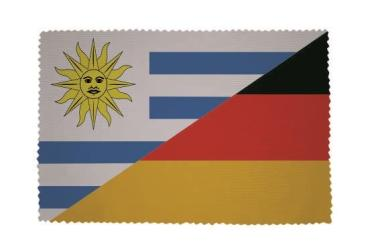Glasreinigungstuch Uruguay-Deutschland