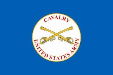 Flagge US Cavalry