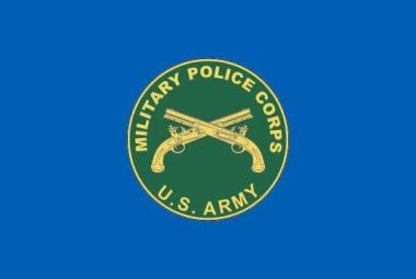 Flagge US Military Police