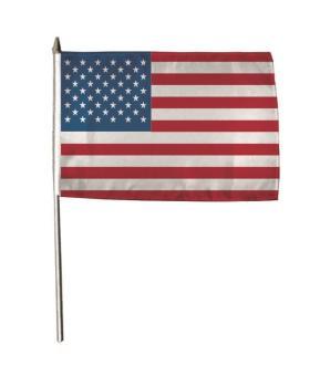 Stockflagge USA 30 x 45 cm