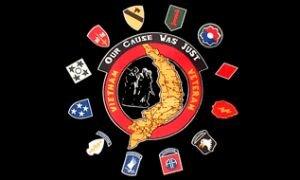 Fahne USA Vietnam Veteranen 90 x 150 cm