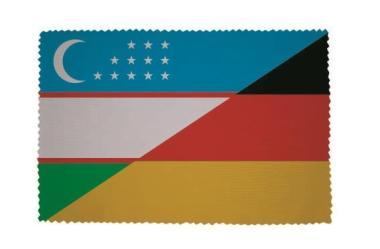 Glasreinigungstuch Usbekistan-Deutschland
