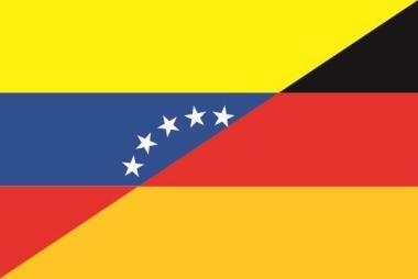 Flagge Venezuela - Deutschland
