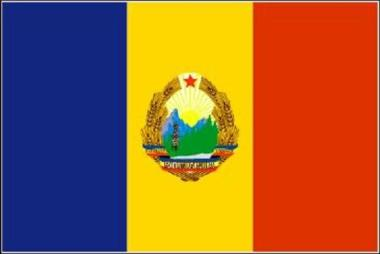 Flagge Volksrepublik Rumänien