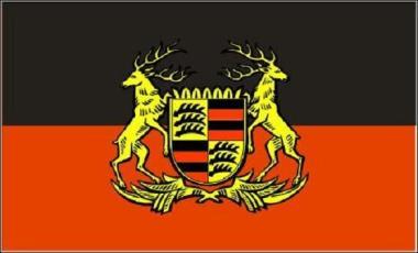Flagge Volkstaat Württemberg