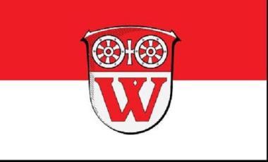 Flagge Walluf