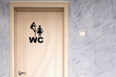 Wandtattoo WC Motiv Nr. 1