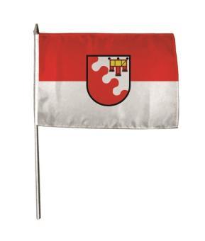 Stockflagge Weiler-Simmerberg 30 x 45 cm