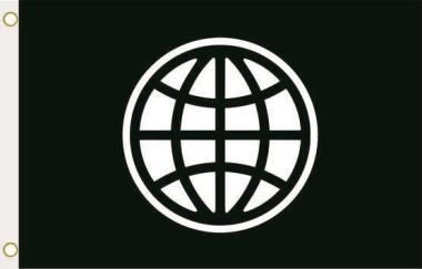 Fahne Weltbank 90 x 150 cm