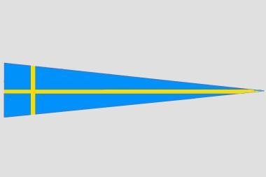 Wimpel Schweden 140 x 27 cm
