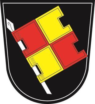 Aufkleber Würzburg Wappen