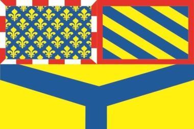 Flagge Yonne Department