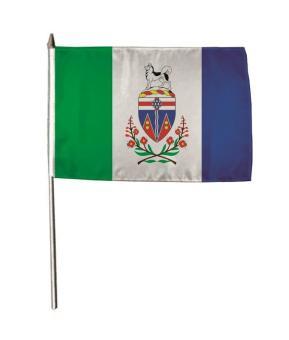 Stockflagge Yukon 30 x 45 cm
