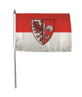 Stockflagge Zehdenick 30 x 45 cm