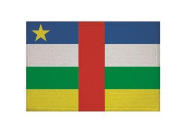 Aufnäher Zentralafrikanische Republik Patch 9 x 6 cm