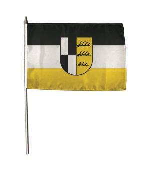 Stockflagge Zollernalbkreis 30 x 45 cm