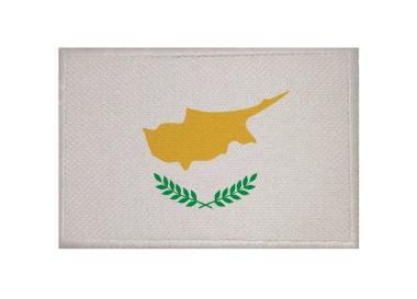 Aufnäher Patch Zypern 9 x 6 cm
