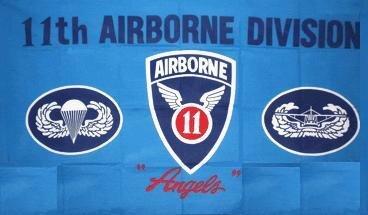 Fahne 11th Airborne 90 x 150 cm